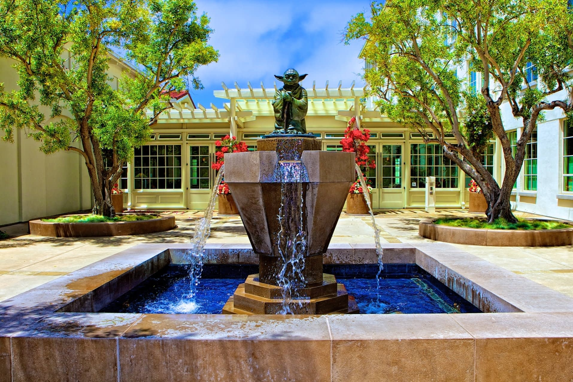 We maintain ornate fountains